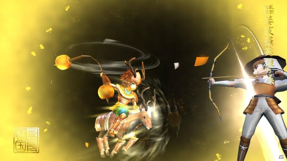 「戦国BASARA バトルパーティー」描き下ろしアニメビジュアルとPVの未公開カットが公開!