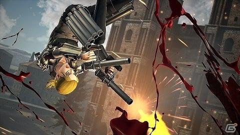 「進撃の巨人2 –Final Battle-」対人立体機動装置やキャラクターエピソードモードの情報が公開!