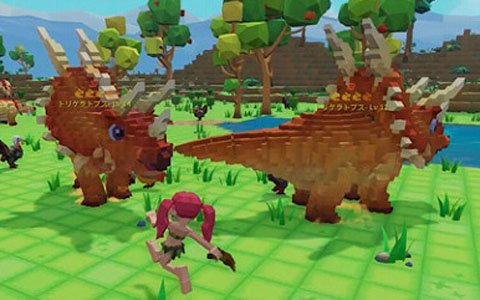 「PixARK」ゲーマーアイドルが恐竜との戦闘やテイム、ライドに挑戦するHow To動画が公開!