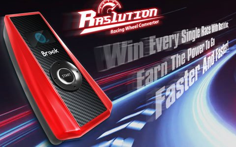 ハンドルコントローラー専用コンバーター「Raslution」が発売決定!ほぼ全てのゲーム機に対応可能
