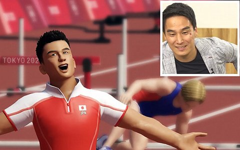 「東京2020オリンピック The Official Video Game」松田丈志さんが110mハードル、BMX、走幅跳を紹介する映像が公開!