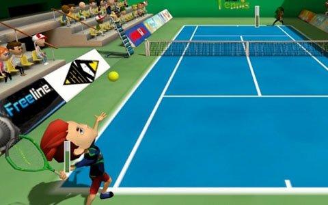 最大8人でのトーナメント大会も楽しめる「わいわい!ナイスショットテニス」がSwitchで配信!