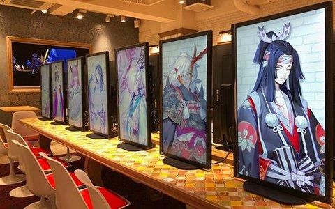 「陰陽師」×「キャラウムカフェ」7月18日まで延長決定!