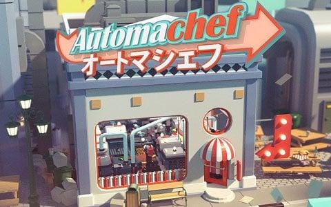 「Automachef」がSwitch/Steam向けに本日配信!全自動の料理工場を組み上げるシミュレーションゲーム