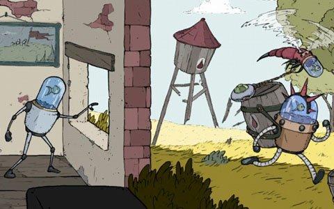 「魚」に制御されたロボットの運命は?アクションRPG「ブリキの騎士」のPS4版が8月1日に配信!
