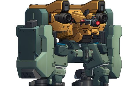 「HARDCORE MECHA」新プレイアブルメカ「ラウンドハンマー:Pキャノン」が使用可能になる追加DLCが配信決定!