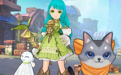 「Ash Tale -風の大陸-」ネコと一緒に戦う新職業「サモニャー」が登場!レアアイテムが当たるスペシャルガチャも