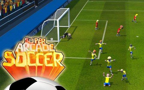 シンプル操作で遊べるサッカーゲーム「SUPER ARCADE SOCCER」がSwitchで配信!