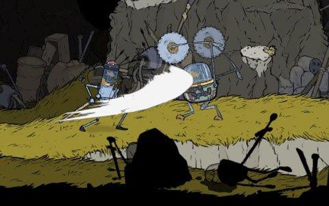 魚に制御されたロボットを操るメトロイドヴァニア風アクション「ブリキの騎士」PS4版が本日配信!