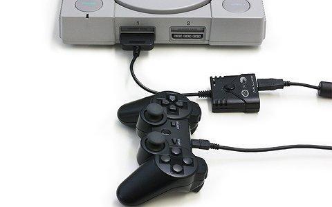 PS4/PS3用コントローラーがPS2/PS1/PS クラシックで使用可能になるコンバーターが8月9日に発売!