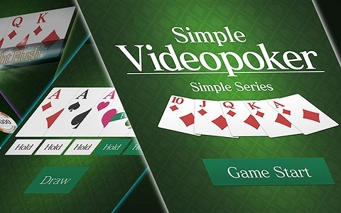 Android「SimpleVideoPoker」が配信!ポーカー10でスコアを競うカジュアルカードゲーム