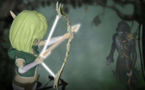弓矢と魔法を駆使して戦うアクションRPG「FOREST OF ELF」がSteamで9月6日に配信!