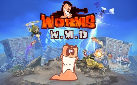 「Worms W.M.D」がSwitchで配信開始!ミミズたちを操作して勝利を目指すターン制ストラテジーアクションゲーム