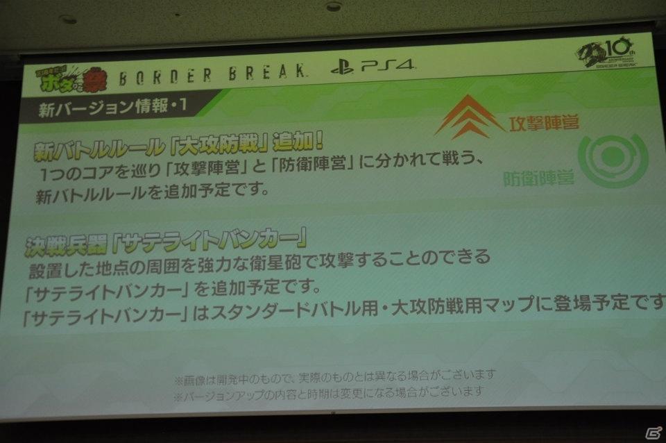 PS4版「ボーダーブレイク」にゼラとジーナが登場!10周年記念イベント「10周年だヨ!ボダりな祭」をレポート!
