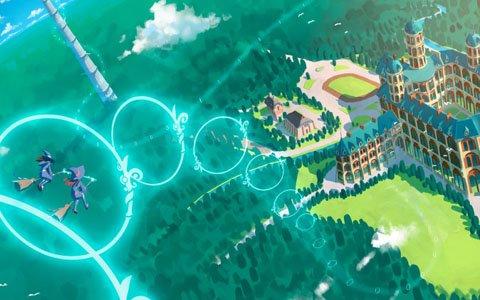 「リトルウィッチアカデミア -VRホウキレース-」がTGS2019に出展!
