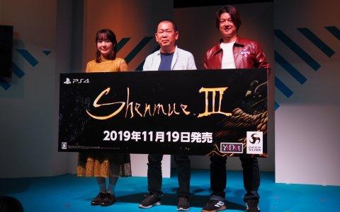 松風雅也さん、照井春佳さんをゲストに作品の魅力などが語られた「シェンムーIII」ステージ【TGS2019】