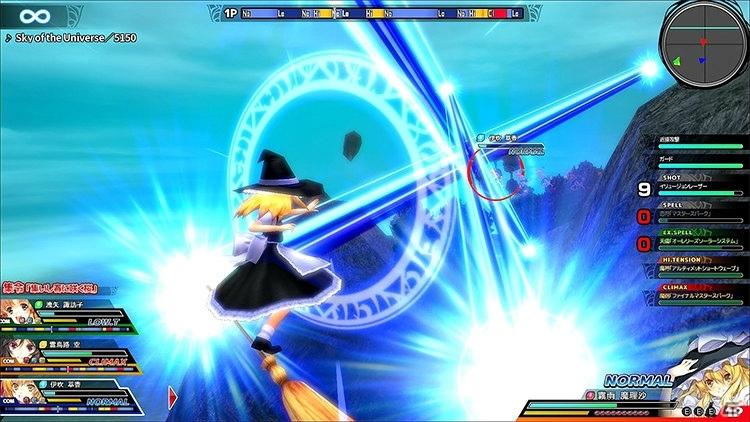 「東方スカイアリーナ・幻想郷空戦姫-MATSURI-CLIMAX」Switchパッケージ版が2020年2月27日に発売