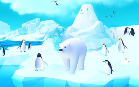 「アビスリウム ポール」で新たに登場する「氷河」と「空」の映像が公開!