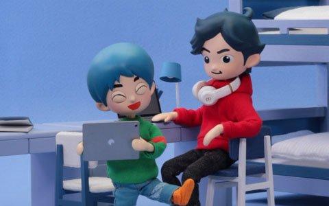 人形アニメとRPGの世界を通じて描く兄弟の物語―「タケシとヒロシ」がApple Arcadeでリリース