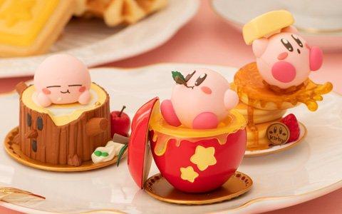 「星のカービィ」がお菓子モチーフの手のひらサイズフィギュアで登場!11月下旬より全国のゲームセンターへ順次投入開始