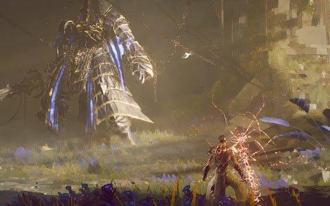 スクウェア・エニックス×プラチナゲームズ新作「BABYLON'S FALL」のゲームプレイ映像がお披露目!