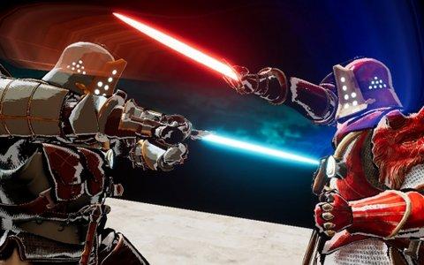 プレイヤー対プレイヤーの近接戦闘を実現したVRゲーム「デュエル・オブ・ガルガンチュア」が「東京eスポーツフェスタ」に出展決定!