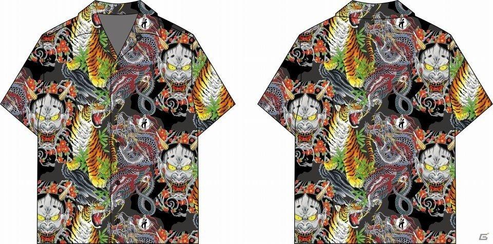 R4G、「龍が如く」の桐生一馬や春日一番の刺青をデザインしたTシャツや真島吾朗をインスパイアしたジャケットなどを発売!