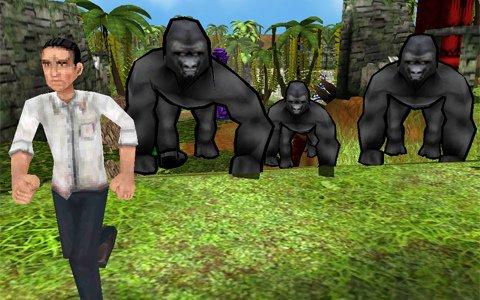 ゴリラと人に分かれて戦う鬼ごっこゲーム「ゴリラ・オンライン」がiOS/Androidで3月16日に配信!