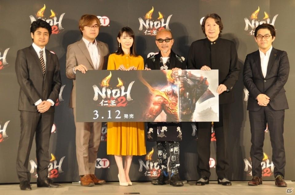 大迫力のオープニング映像は必見!竹中さん、波瑠さんも登壇した「仁王2」完成発表会レポート