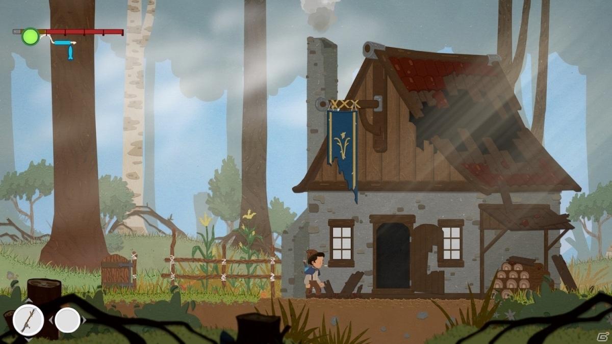 PS4/Switch/Steam「レジェンド・オブ・イサーナル」が8月20日に発売!家族の失踪に隠された真実を追う横スクロールACT