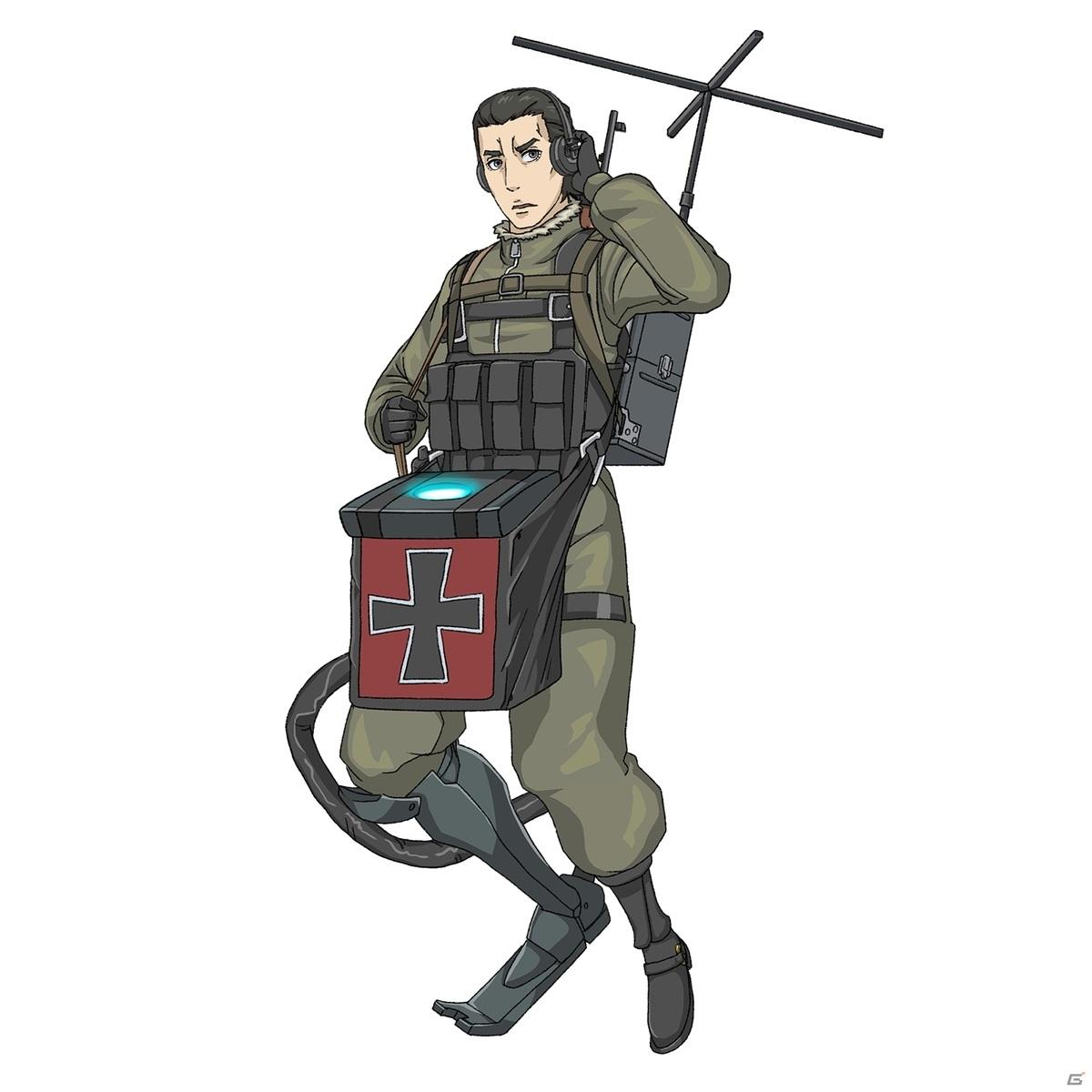 「幼女戦記」の世界を追体験できるスマートフォン向けRPG「幼女戦記 魔導師斯く戦えり」のゲーム画面が公開!
