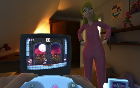 PS VR版「Pixel Ripped 1995」が7月21日に発売!ゲームに熱中したあの時代を体験できるADV