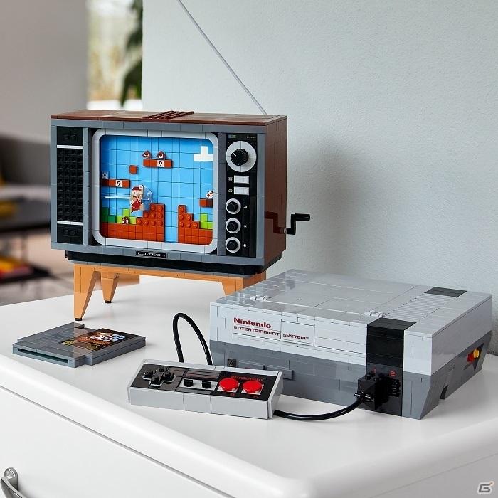「レゴ スーパーマリオ」全ラインナップが8月1日に発売!レトロなテレビとNESを組み立てられるセットも登場