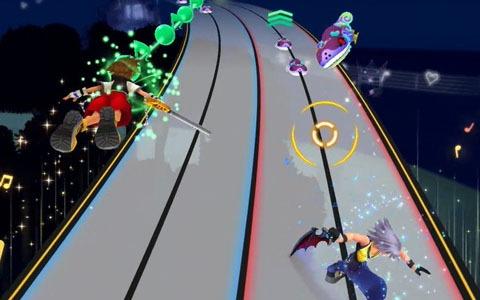 アクションとリズムゲームが融合した新感覚のゲーム「KINGDOM HEARTS Melody of Memory」先行プレイレビュー