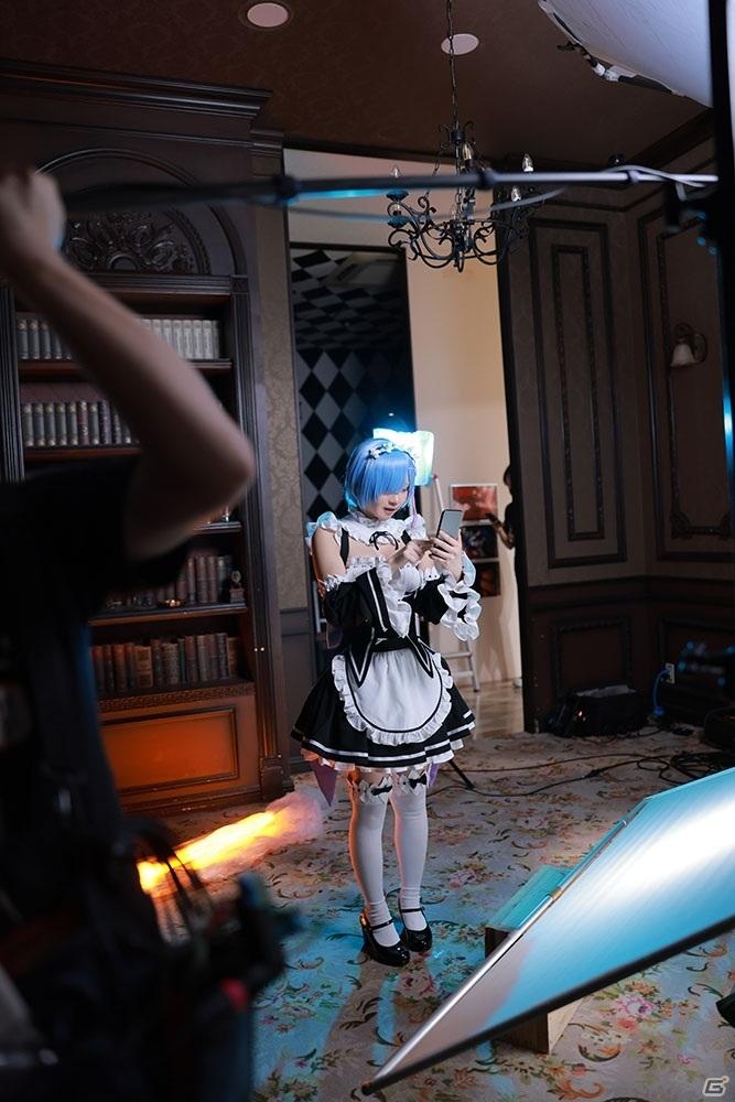 「Re:ゼロから始める異世界生活 Lost in Memories」WebCM撮影に参加したコスプレイヤー・えなこさんへの現場インタビューが公開!