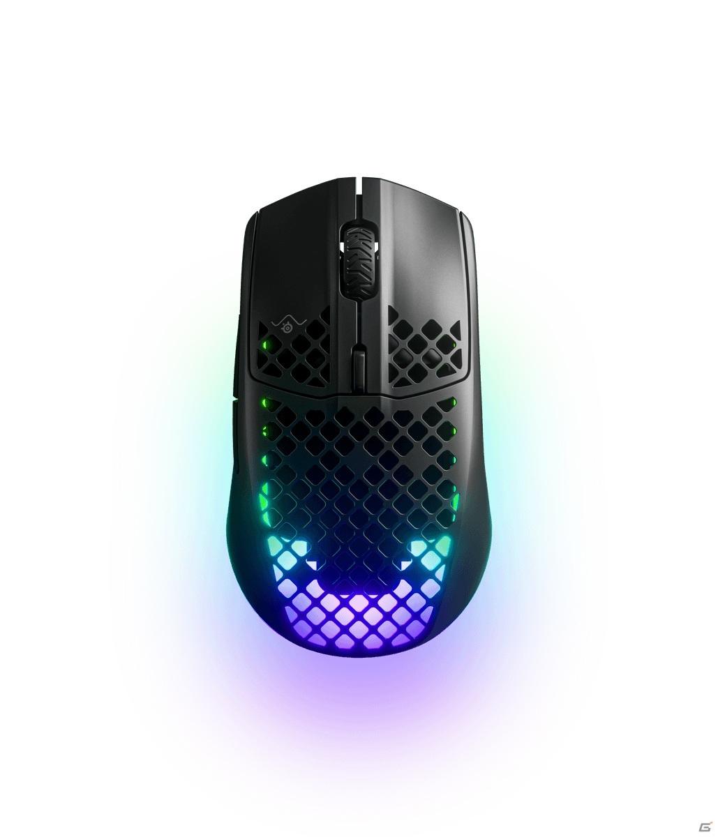 SteelSeries、スピードとパフォーマンスを追求した超軽量ゲーミングマウス「Aerox 3」「Aerox 3 Wireless」を発表