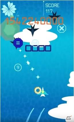 iOS/Android「スカイトップ」が配信!数式の作り方次第で1億点以上も得点が変わる演算フライトアクションゲーム
