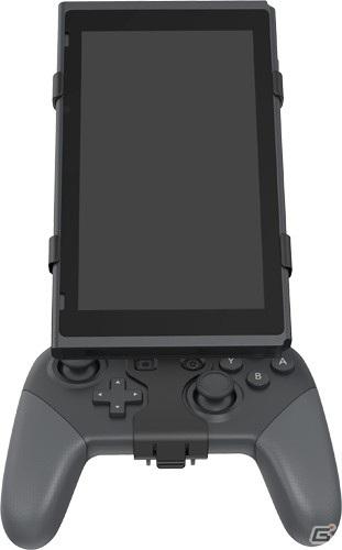 Nintendo SwitchをProコンに固定して操作できる本体マウントホルダーが登場!5月中旬に発売予定