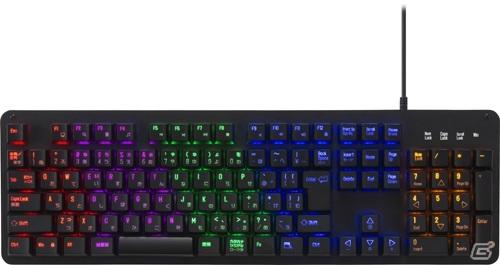 オンラインゲームなどのチャットに便利なPS4/Switch用ゲーミングUSBキーボードが1月31日に発売!