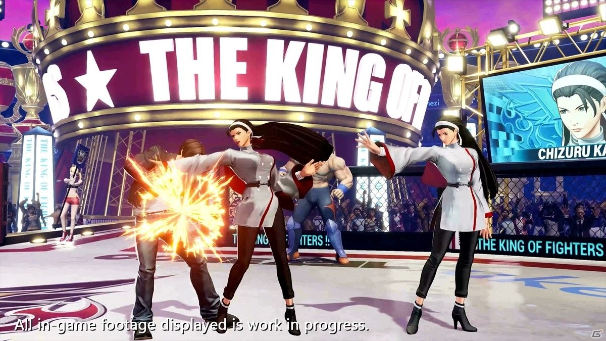 「THE KING OF FIGHTERS XV」神楽ちづるのキャラクタートレーラーが公開!草薙 京、八神 庵との「三種の神器チーム」結成も