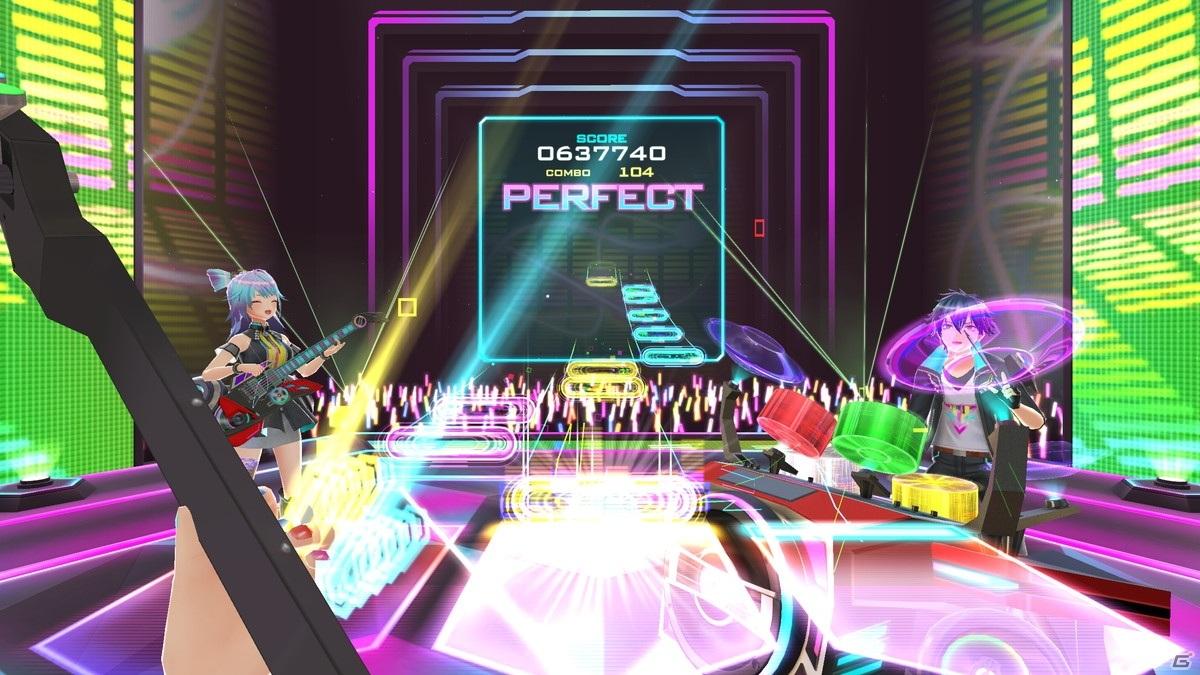 KONAMIが提供するVRバンド演奏ゲームの魅力とは?「BEAT ARENA」先行インプレッション