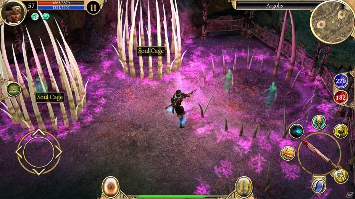 iOS/Android「Titan Quest: Legendary Edition」の30%オフセールが実施!北欧ギリシャ神話の世界が舞台のハクスラ系ARPG