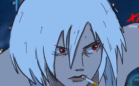 「アカネ」レビュー:2121年の未来都市メガ東京……銀髪の少女とヤクザ軍団の死闘がはじまる!