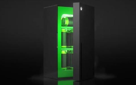 Xbox Series Xが冷蔵庫になって登場!?「Xbox Mini Fridge」が2021年末に発売【E3 2021】