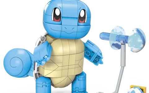 ブロック玩具「メガコンストラックス」より「ポケモン ビッグシリーズ ゼニガメ」が9月下旬に発売!